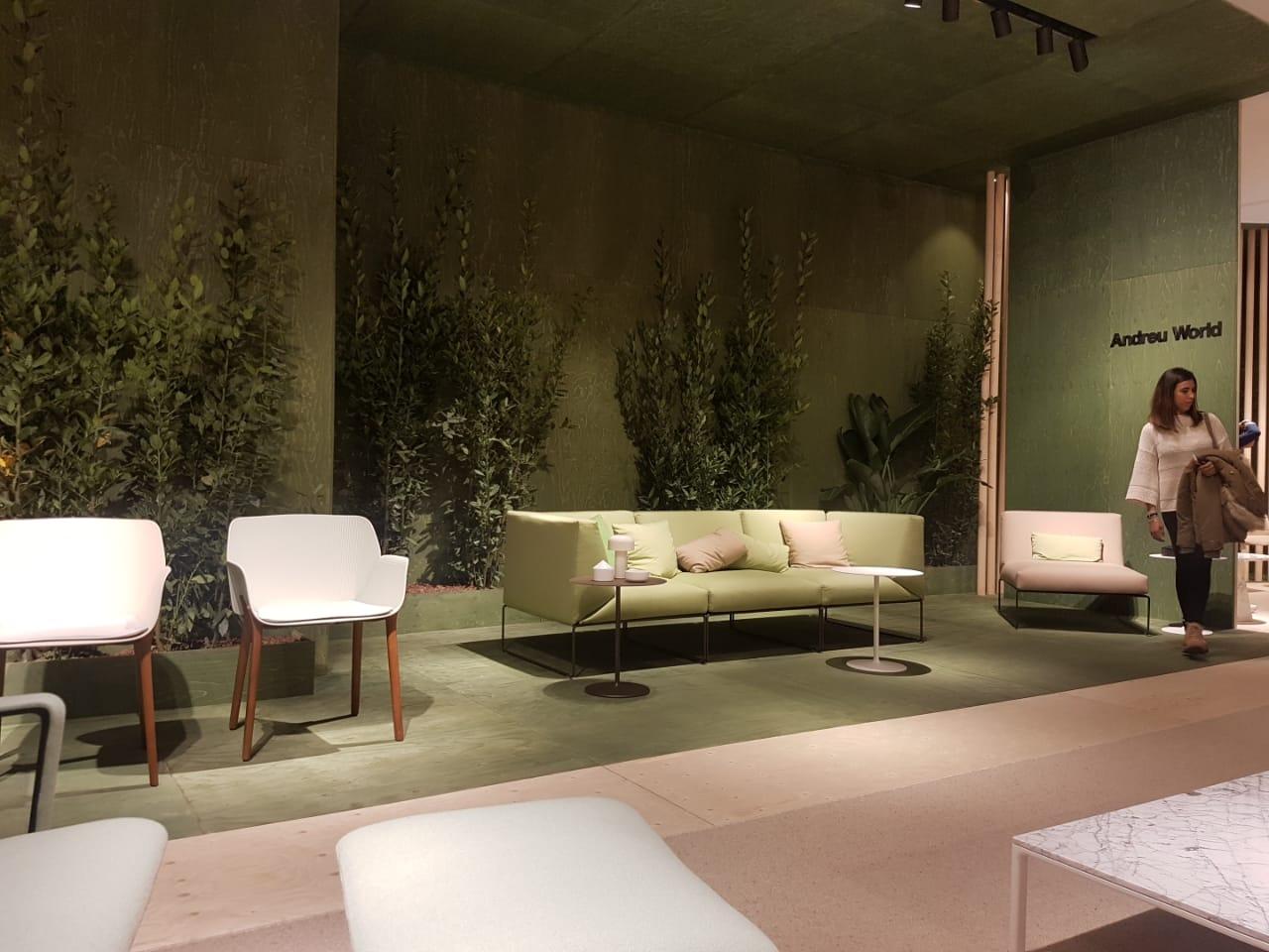 Andreu World presenta en el Salón del mueble de Milán su línea para exteriores